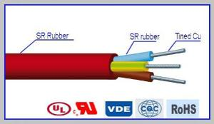 SIHF Multicore Silicone Rubber Insulated Cable