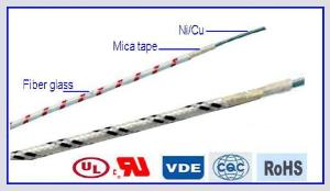 AWM 5128 Glass Fiber Braid Mica Tape Electric Wire